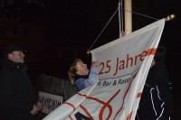 25 Jahre Vivarium - die neu Fahne kann gehißt werden